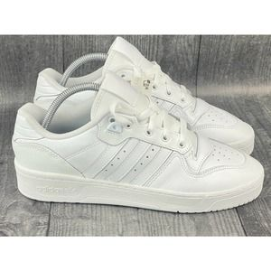 ADIDAS Originals RIVALRY LOW SNEAKERS Triple 9 New
